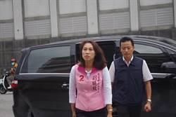 花蓮》政見發表會 縣長候選人劉曉玫披頭散髮險遲到