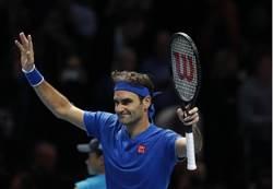 ATP年終賽》取消練球淨空心靈 費爸贏「鮮肉」獲生機