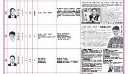 桃園選舉公報 奶爸、推嬰兒車Q圖都上榜