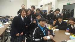 13年情誼!基中邀日本姊妹校賞玩「捏麵人」