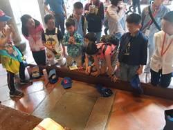 陸小學生參訪慶安宮  媽祖婆前擲茭新體驗