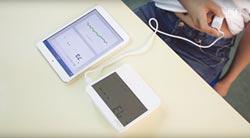 整合式心電血壓計 居家好幫手