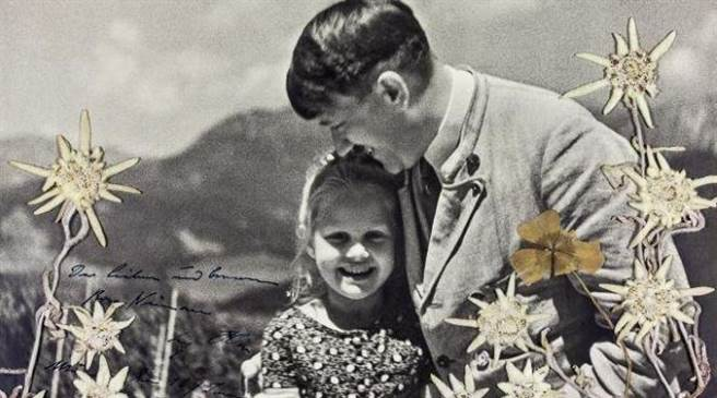 希特勒和猶太女孩的特別友情! 背後故事讓人震驚!(圖/翻攝自推特/@jlevi53)