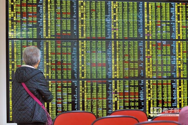 台股13日開低走低一度狂跌逾200點,最低到9616.16點,許多看盤民眾直呼災情慘重。(杜宜諳攝)