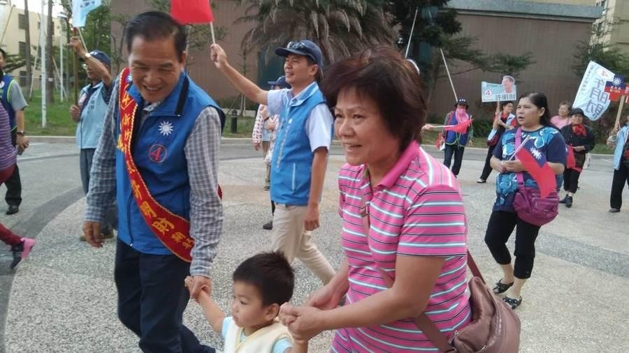 圖片來源:新竹市長候選人許明財 提供