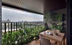 空中花園式大陽台 成台中新建案賣點