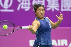 「小鋼砲」首勝世界前百名球員 挺進岐阜女網賽八強