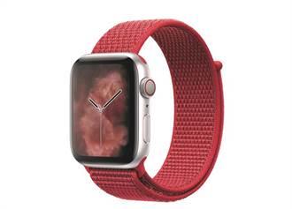 苹果上架全新(PRODUCT)RED运动型表带 美美入手还能作公益