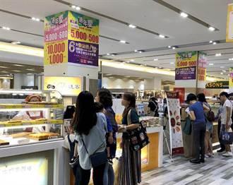 南紡購物中心與新光三越台南新天地週年慶互別苗頭