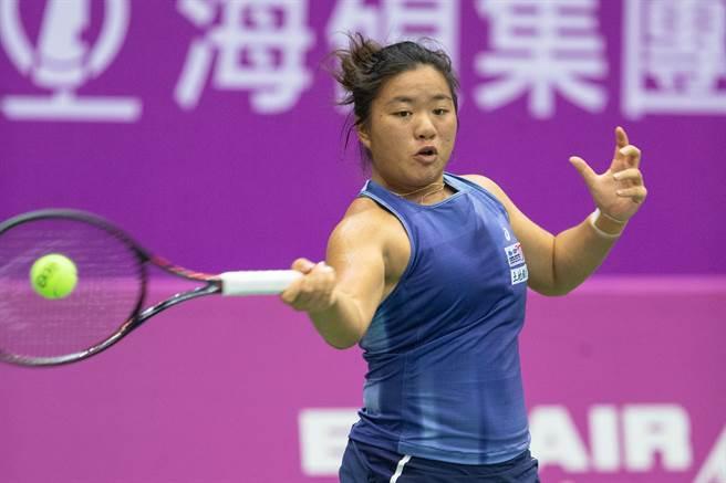 梁恩碩在ITF岐阜女網賽擊敗世界百名內好手,挺進八強。(資料照/海碩整合行銷提供)