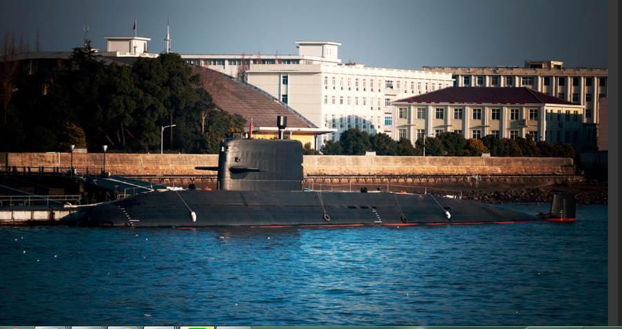 網路盛傳的039B型潛艦。(網路)