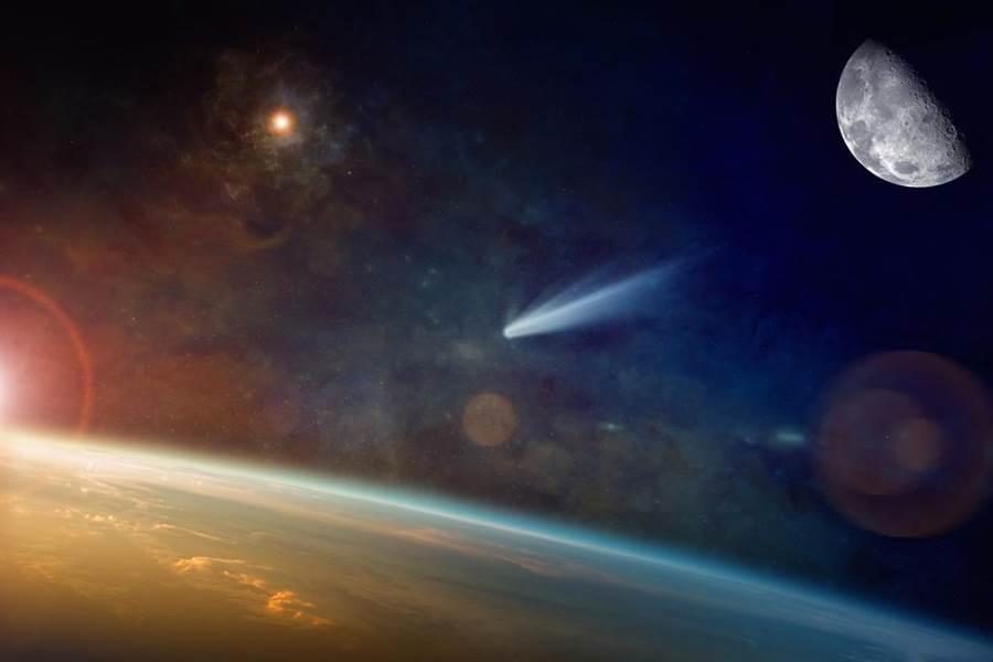 如何吸引外星人注意? MIT推薦雷射光發信號:看看地球吧!(示意圖/達志影像)