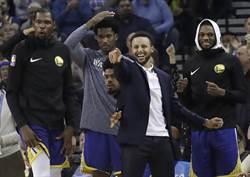 NBA》科爾讚柯瑞是「矮版鄧肯」 復出還需數周