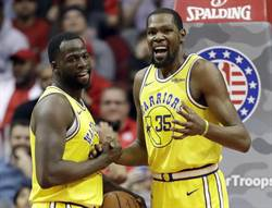 NBA》衝突不影響決定 杜蘭特:格林嘴就這麼臭