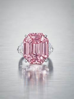 Harry Winston創粉紅傳奇 15億天價標得粉紅鑽