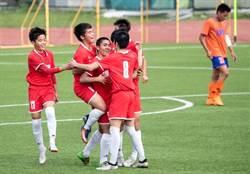 高中足球邀請賽 日本利根商校1球氣走惠文高中