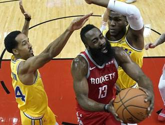 NBA》沒甜瓜的火箭變強?主場痛扁勇士不手軟