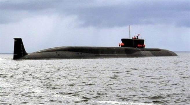 印度首艘自主設計製造的核動力潛艦完成首次戰略威懾巡航。(圖/推特@AAOLion)