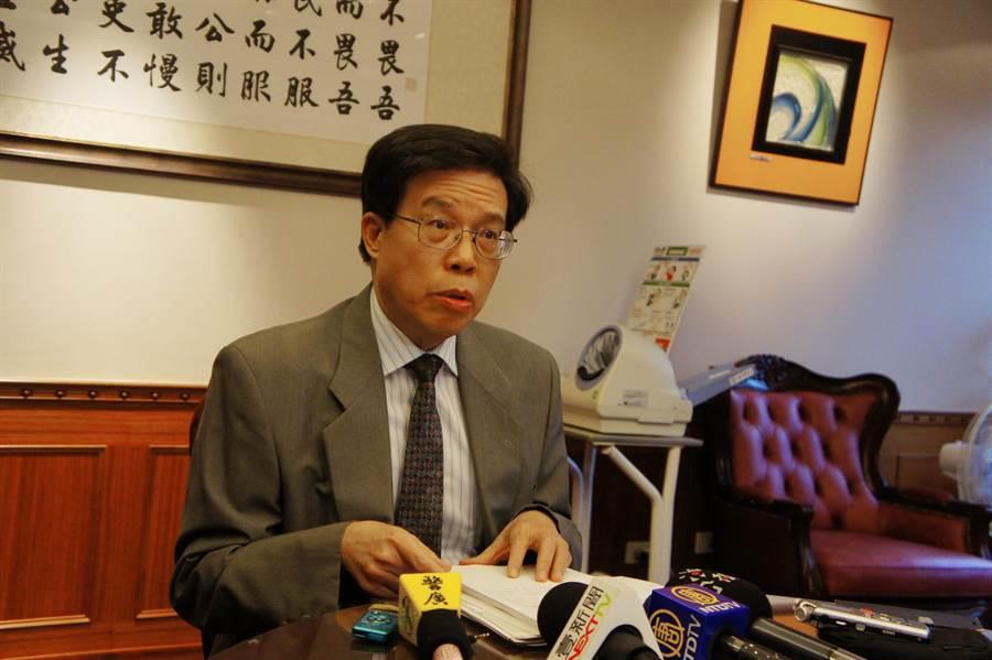 最高檢察署公布最新選舉查察統計,官長洪泰文表示,全台選舉賭盤共19件31人。(張孝義攝)