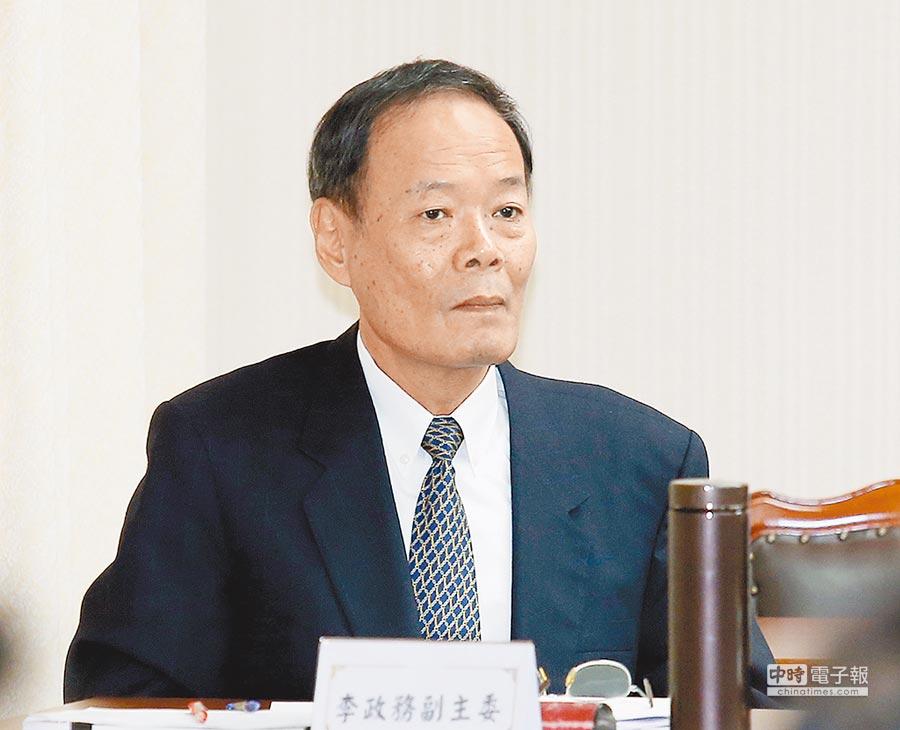 選前炮火實射,海巡署長李仲威表示不會有差錯,如果有差錯「我負責」。(姚志平攝)