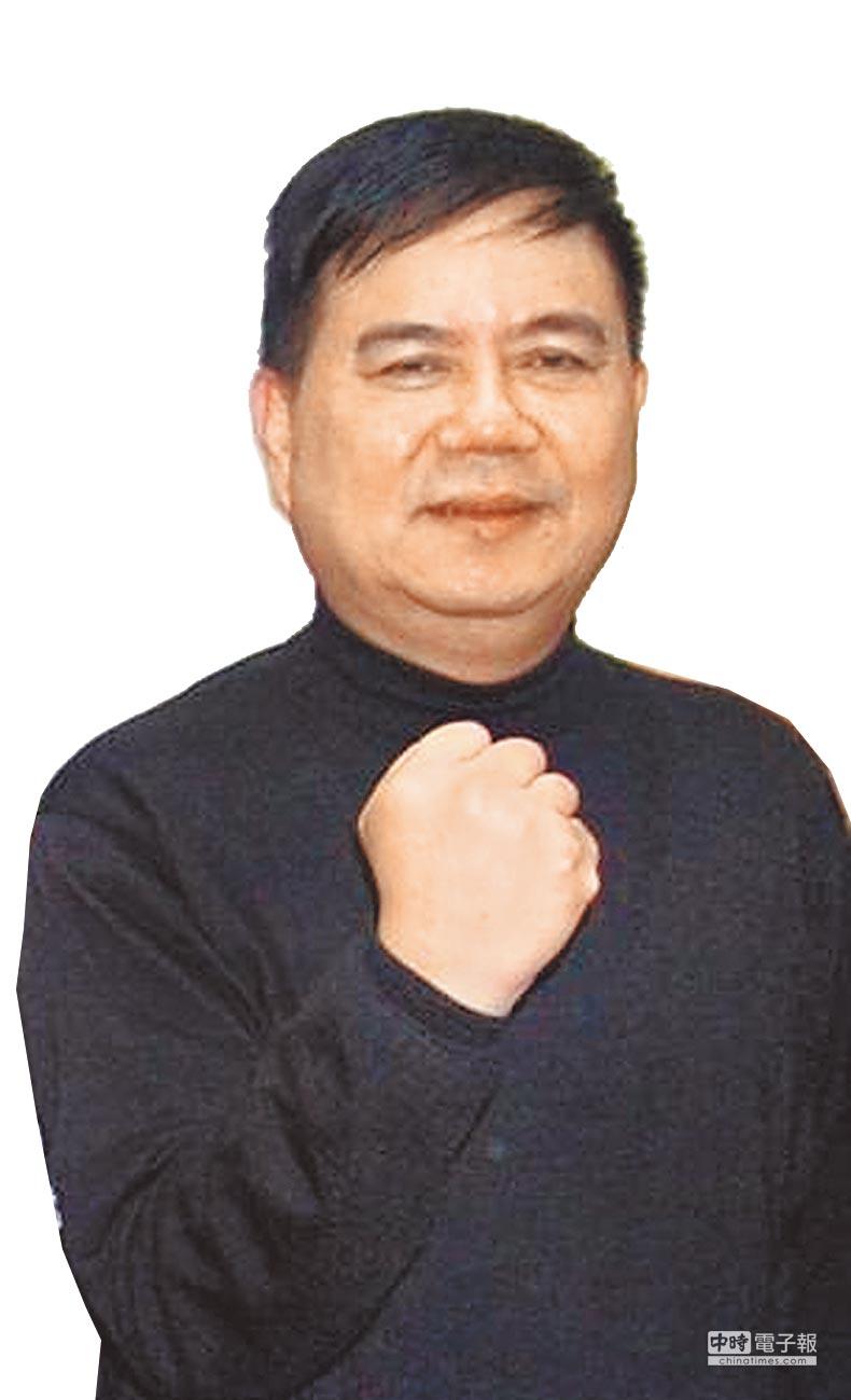 嘉義市副議長郭明賓。(廖素慧攝)