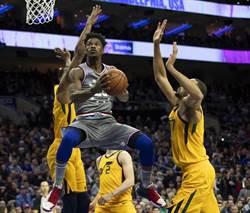 NBA》新三巨頭爆發 巴特勒摘加盟七六人首勝