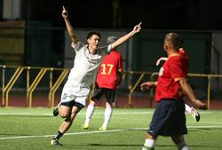 陳柏良表演賽 呂昆錡攻入生涯第一球!