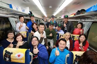 力挺台鐵!泰國亞洲理工學院校友今搭火車、遊台灣