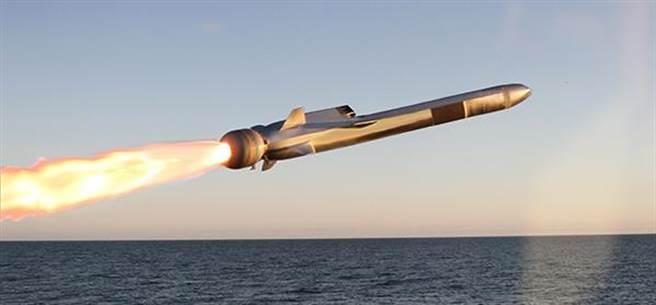 挪威康斯柏格公司所研發的NSM導彈。(圖/康斯柏格公司)