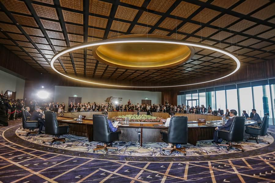 APEC經濟領袖宣言、部長宣言,在會議結束後仍未提出。(中華台北代表團提供)