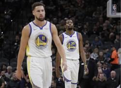 NBA》不敵馬刺吞3連敗 衛冕軍勇士怎麼了!