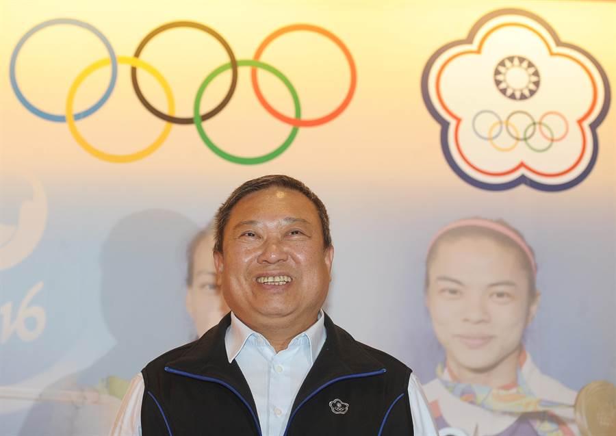 東奧正名公投未通過,中華奧會主席林鴻道表示,感謝體育界的所有人同舟共濟,捍衛會籍和選手參賽資格。(資料照/季志翔攝)