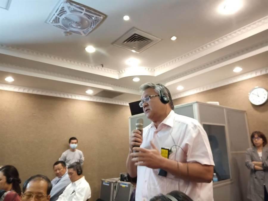菲律賓前國會議員馬克.寇傑柯表示,菲律賓也因反核運動而阻止了核電廠的運營,這對經濟與環保的傷害很大。(江飛宇/攝影)