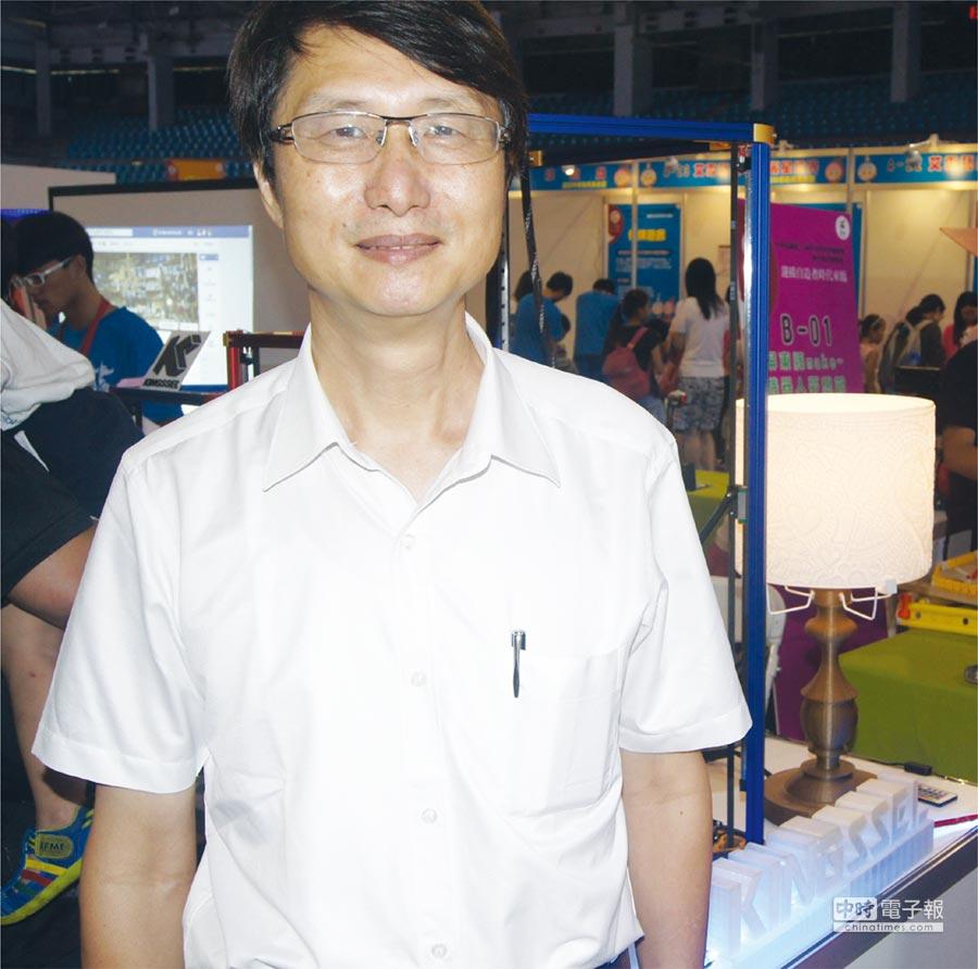 美洛克工業總經理傅文祺。圖/周榮發