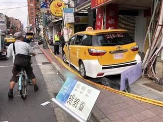萬華康定路計程車自撞車禍 司機不治