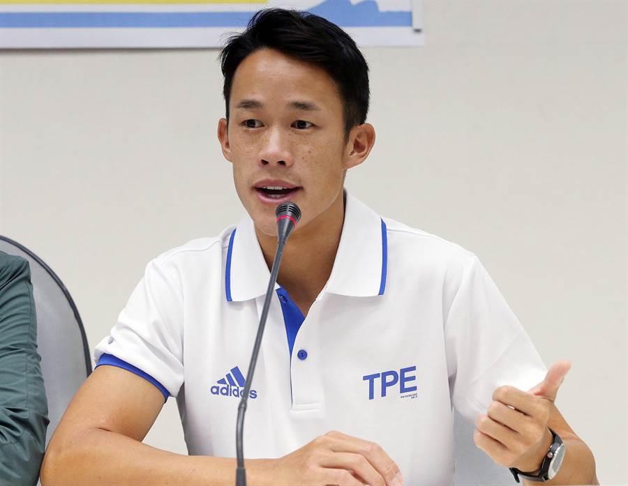 莊吉生支持以台灣名義出國比賽。(資料照/趙雙傑攝)