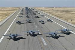 大象漫步秀戰力 美F-35完勝陸殲-20俄蘇-57