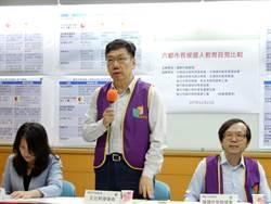 6都市長候選人政見比較  韓國瑜、陳學聖、楊麗環支持維持教官人力
