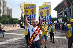 力拼第三席、壯大國民黨 蔡武宏  議會拼過半最關鍵一席