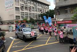 啟動車隊掃街3天跑遍台北市 丁守中喊:我體力好得很!