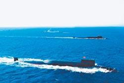 陸093B核潛艦 護航094巡弋大西洋