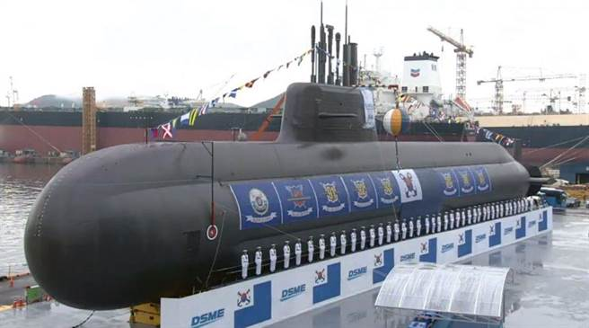 由韓國大宇造船廠建造的KSS-3型3000噸級潛艦。(圖/大韓民國海軍)