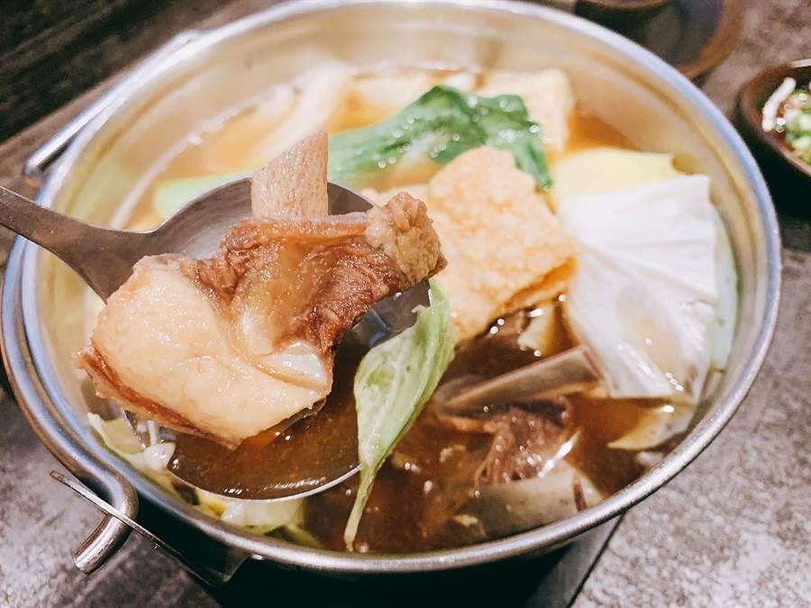 「錵鍋」提供羊肉爐獨享鍋,滿足喜歡吃羊肉爐,又揪不到伴的朋友吃。(柯宗緯攝)