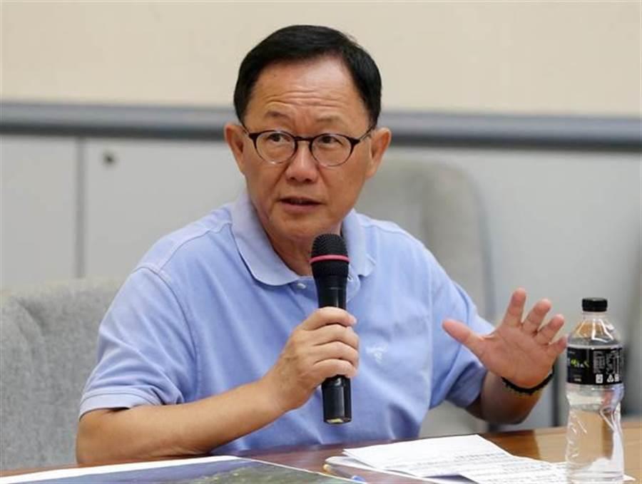 國民黨台北市長參選人丁守中。(中時資料照,趙雙傑攝)