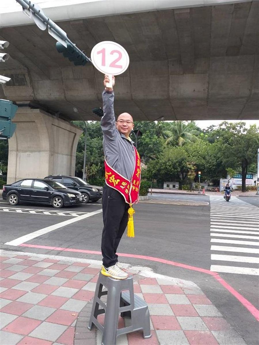 國民黨高雄市議員候選人蔡武宏 提供