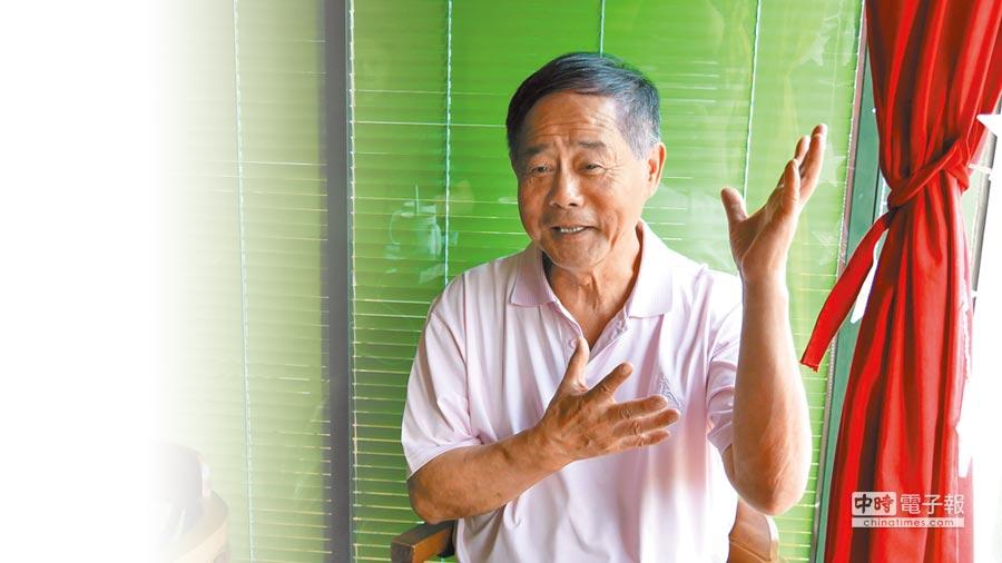 在北京打拚20多年的北京捷安特商貿公司董事長林清發,見證了大陸經濟「脫胎換骨」的過程。(記者陳柏廷攝)