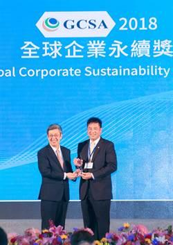 友達董事長彭双浪獲頒首屆「全球企業永續傑出人物獎」