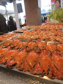 漁人碼頭漁業環保大饗宴,肥蟹、放流、淨灘大家一起來
