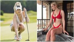 運動家都很Men?「美胸級」高爾夫選手 細腰、長腿辣到讓人噴鼻血
