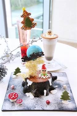 享受耶誕好時光 日月千禧「麋鹿蛋糕」吸睛度百分百